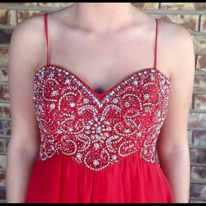 Red Prom or Formal dress
